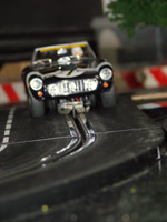 Carrera-Modellrennbahn