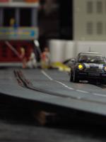 Modellrennbahn-Nachtfahrt