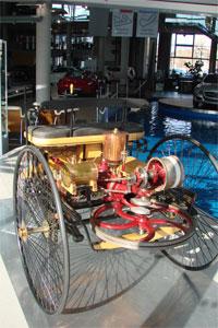 schwungrad-benz-motor