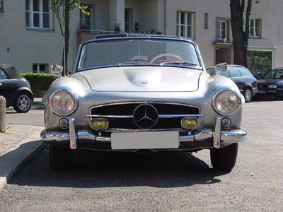 automarke mercedes benz 190 sl cabrio coupé fotos oldtimer mercedes